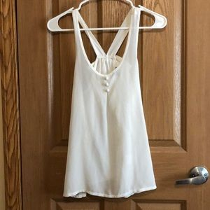 Charlotte Russe Cute tank gently used size Small